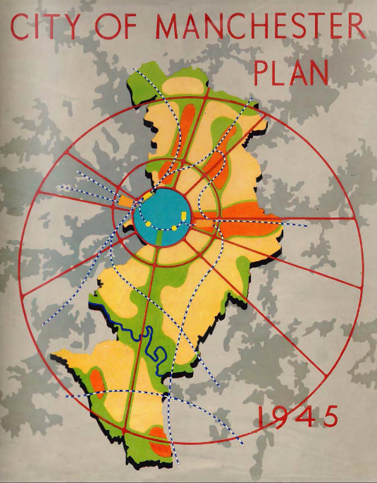 City of Manchester Plan 1945
