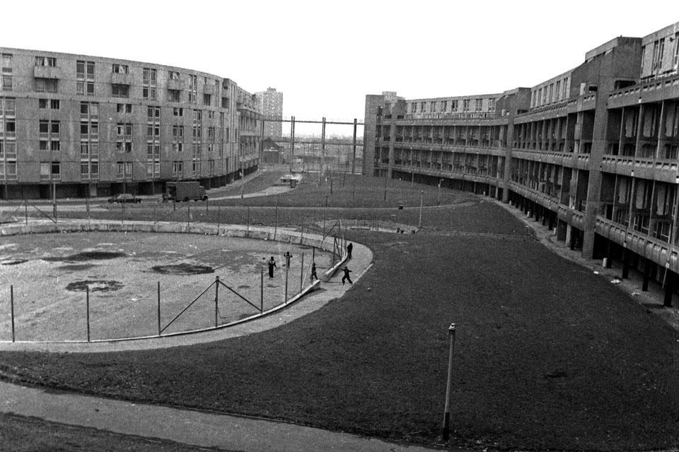 Hulme Crescents in 1979