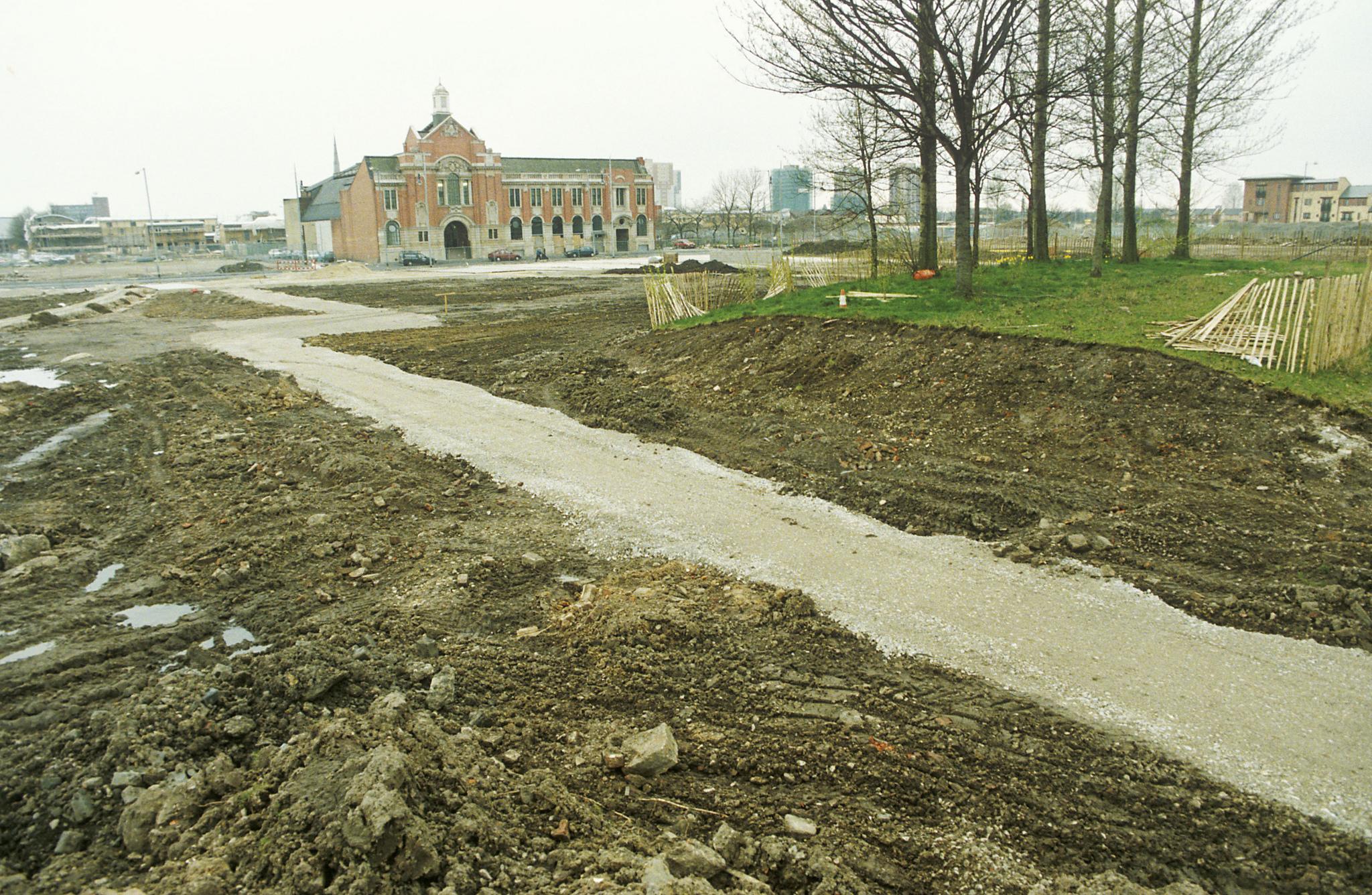 Hulme Park in 1997