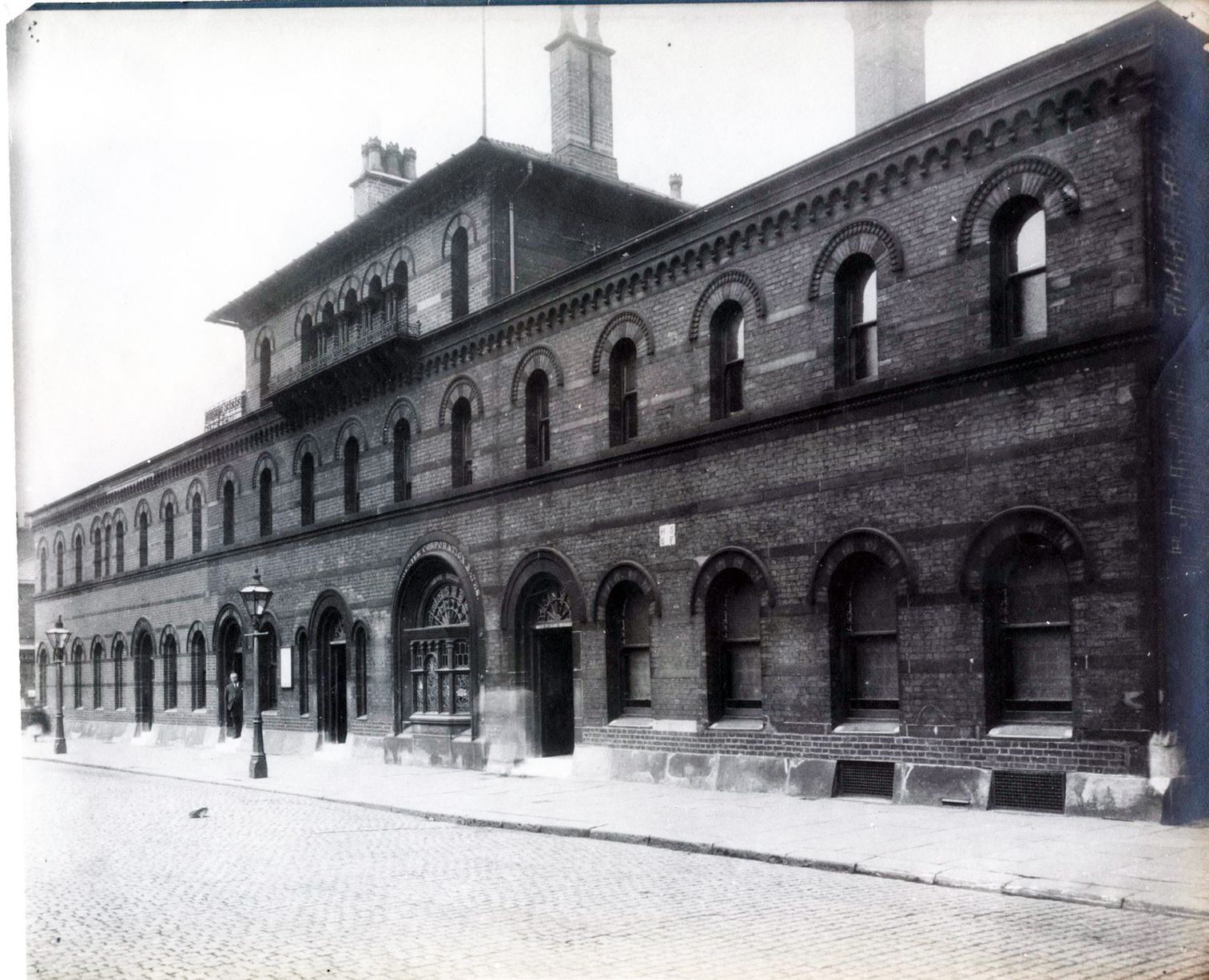 Photo of the outside of Leaf Street Baths